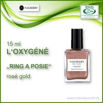 "Nailberry ""L'Oxygéné"" RING A POSIE"
