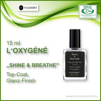 Nailberry Top Coat Shine and breathe