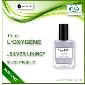 Nailberry L'Oxygéne SILVER LINING