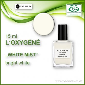 "Nailberry ""L'Oxygéné"" WHITE MIST"