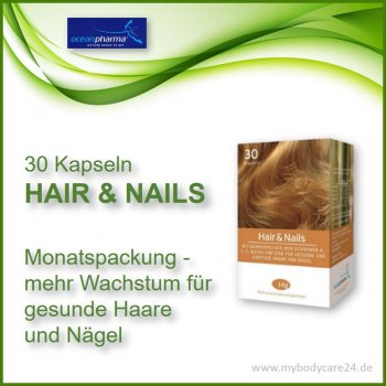 Hair and Nails - 30 Tabletten