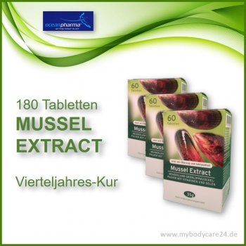 Mussel Extract 3-Monats-Kur