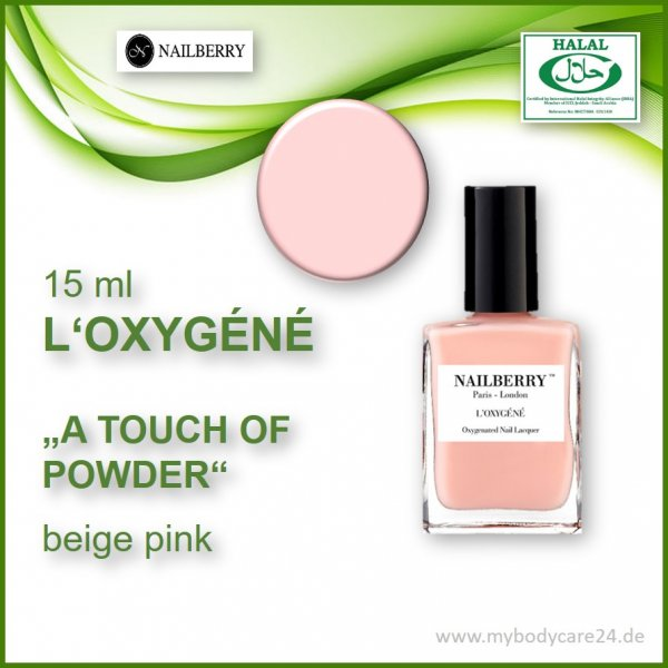 Nailberry L'Oxygéne A TOUCH OF POWDER