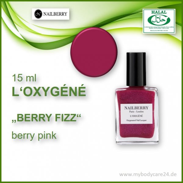 Nailberry L'Oxygéne BERRY FIZZ