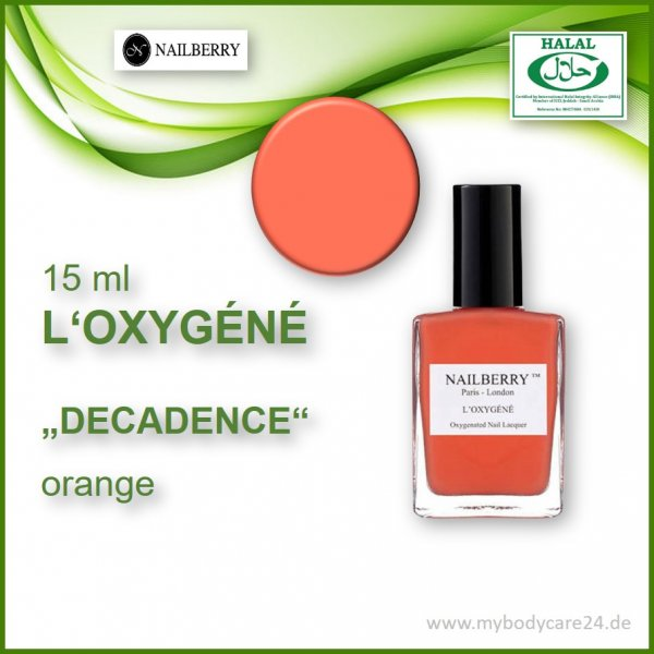 Nailberry L'Oxygéne DECADENCE