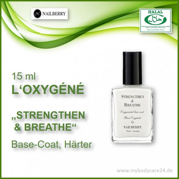 Nailberry Base Coat Strengthen and breathe