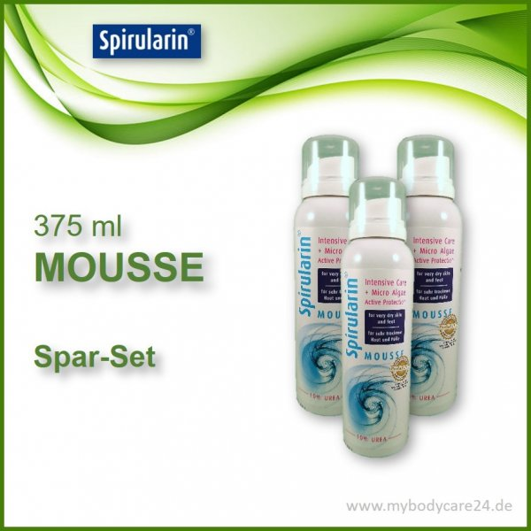Sparset MOUSSE 3x125 ml